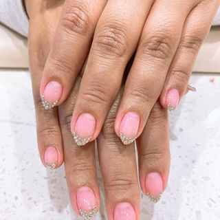 Cute Summer Red Valentine Flower Heart Xmas Ombre Nail Designs  (#135907)