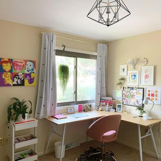 Small Home Office Design / Decoration (#125753)
